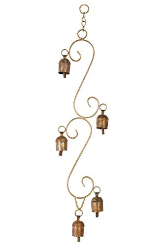 CRAFTSTRIBE Hanging Bell Home Decoration Copper Alloy Bell Outdoor Hanging Bell
