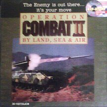 Operation Combat II (2): By Land, Sea & Air (PC - DOS) - CD-ROM Edition