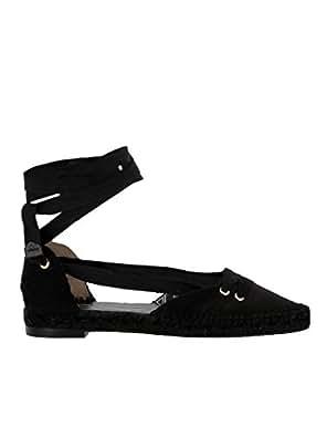 Castañer - Alpargatas para Mujer Negro Negro IT - Marke Größe, Color Negro, Talla 36 IT - Marke Größe 36