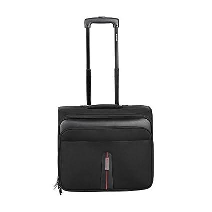 5f55207275 Safari Pisa Laptop Trolley (Black)  Amazon.in  Bags
