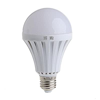 LIYUDL LED Smart Light Bulb Built-in lithium Battery, E27 9W 220V 25LED Rechargeable Bulb Lamp