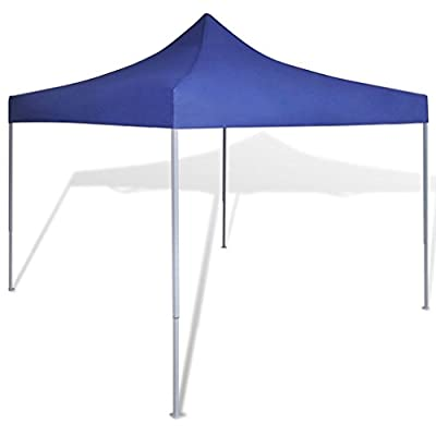 Unfade Memory Outdoor Gazebo Foldable Tent Patios Canopy Party Canopies Commercial Tents (no Wall, Blue) : Garden & Outdoor