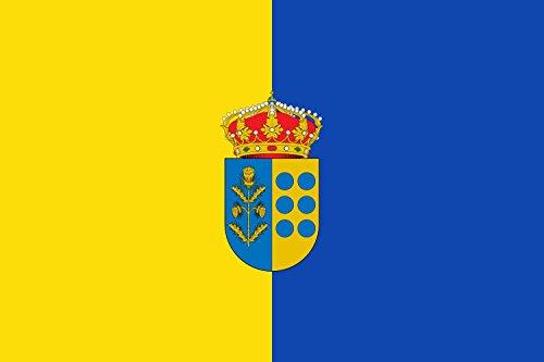 magFlags Bandera Large Municipio de Cardiel de los Montes Castilla-La Mancha | Bandera Paisaje | 1.35m² | 90x150cm