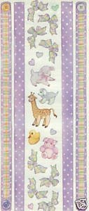 Frances Meyer Stickers - BABY PLAID