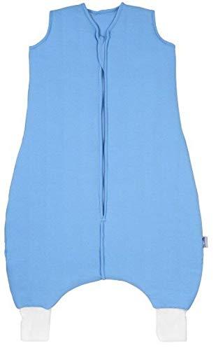 Slumbersac Summer Baby Sleeping Bag with Feet 1.0 Tog Plain Blue 18-24 months//90 cm