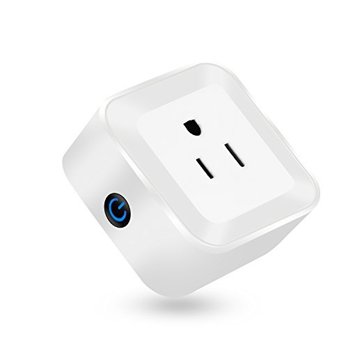 Martin Jerry mini Smart Plug Compatible with Alexa Google Home, Smart Home Devices, No Hub required (Model: V02) - 1 Pack
