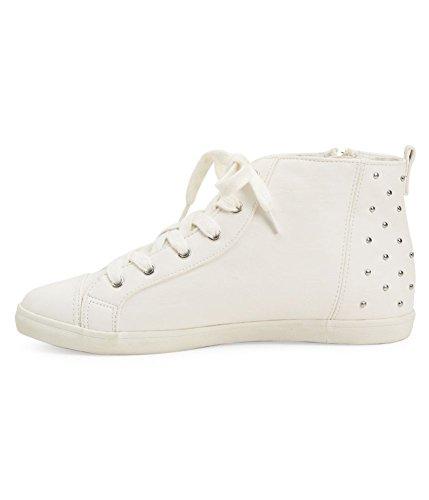 Aeropostale Femmes Cloutées Mi-bas Mi-bas Sneakers 047