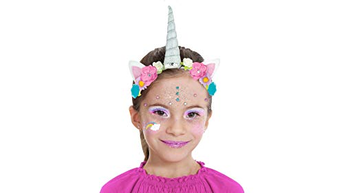 Almar Sales Company INC Unicorn Makeup Kit for Kids, Halloween Makeup, 10 Pieces