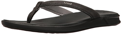 Women's Reef Sandal LE Catch Black Rover OBUw0qf