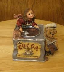 Boyds Wee Folkstones Cocoa M. Angelrich and Scoop #271050