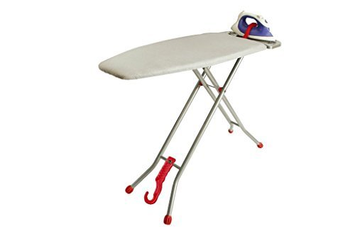 "Ironmatik Space Saving Ironing Board - 44"" X 15"" Usage Area"