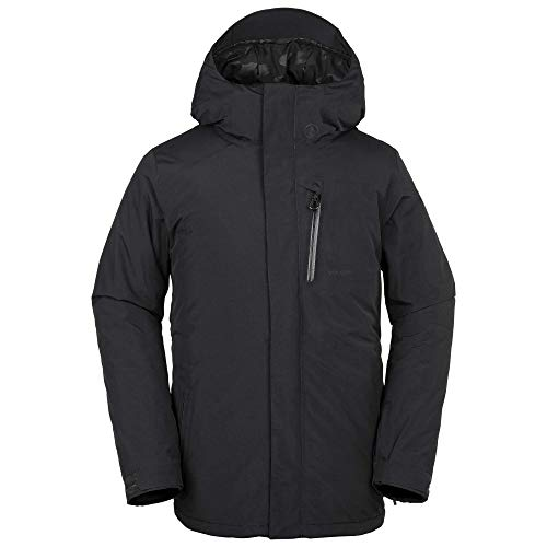 Volcom Men's L Insulated Gore-Tex Breathable Snow Jacket, Black, Large