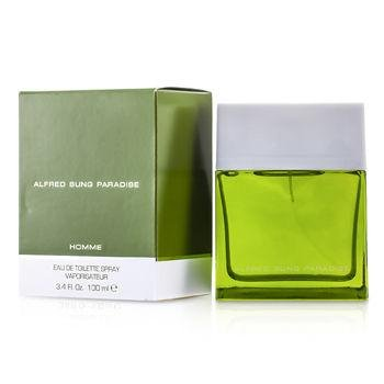 Paradise 3.4 Oz Eau De Toilette Spray By Alfred Sung New In Box For - Spray 3.4 Paradise Ounce