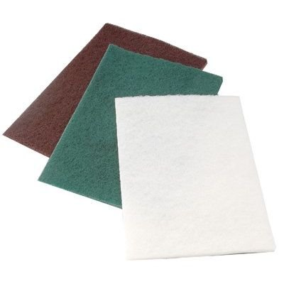 Cgw Abrasives 36242 Medium Duty Green 6&Quot;X9&Quot;Hand Pad 10/Pk (10 Ea W)