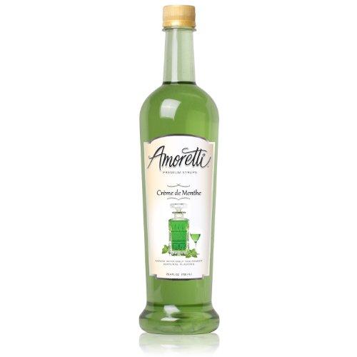 (Amoretti Premium Syrup, Crème De Menthe, 25.4 Ounce)
