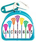 Zumoe Lacrosse Mouth Guard Case, Retainer Case, Mouthguard Case or Dental Case Called 7 Standing Sticks