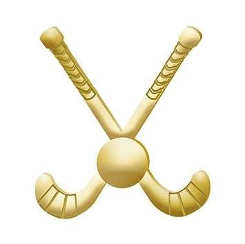 Sports Pins Great Field Hockey Gold Lapel Pins to Reward Field Hockey Players Prime Crown Awards 1 x 1 Field Hockey Pins