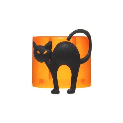 1311090 Black Cat Yankee Candle Electric Scent-Plug Base by Yankee Candle (Yankee Halloween Candles)