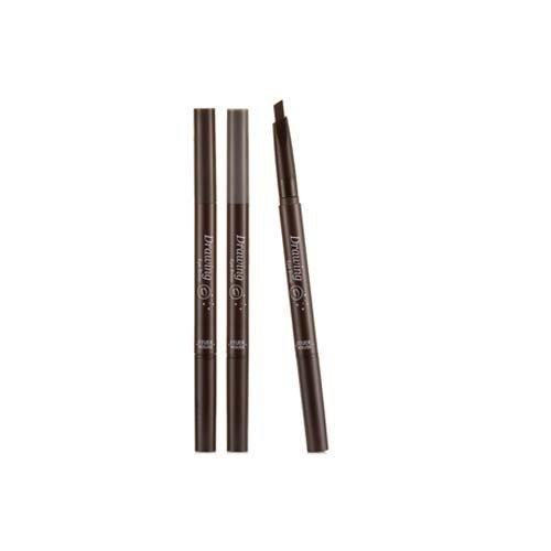 - [Etude House] Drawing Eye Brow Pencil x 3PCS #03 Brown ( Hot Items ) by appgooddi