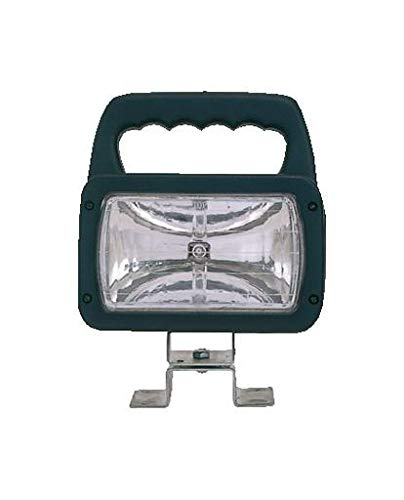Ring Automotive RCV9570 Rectangular Switched Worklamp with Free Form Reflector and Polycarbonate Lens, 12/24 -