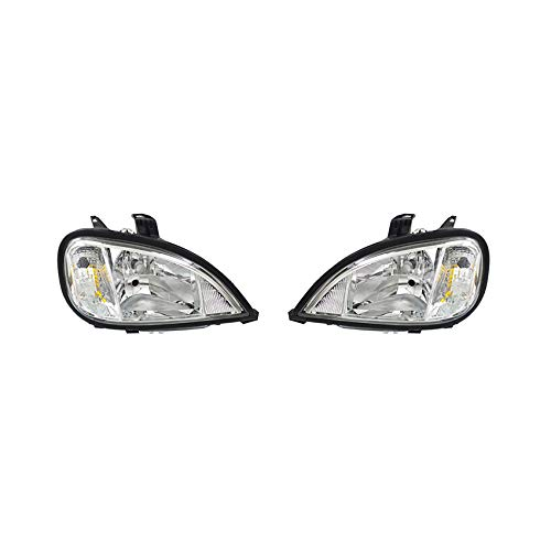 NEW HEADLIGHT PAIR FITS FREIGHTLINER COLUMBIA 120 TRACTOR 2004-2015 A0675737003