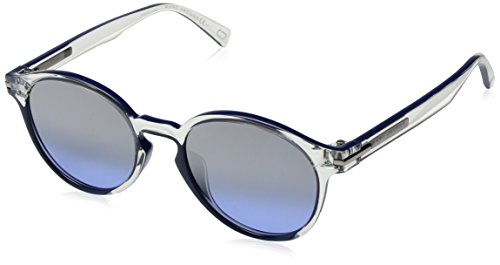Marc Jacobs Marc224s Oval Sunglasses, CRY BLUE, 52 mm