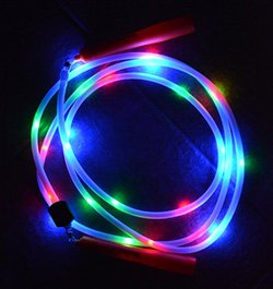 8ft Light Show Jump Rope - Dark Rope