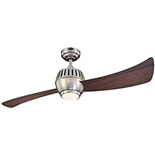 Westinghouse 7852400 Sparta One Light 52 Inch Two Blade Indoor Ceiling Fan