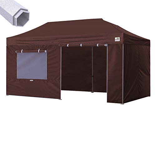 Eurmax 10 x 20 Ez Pop up Canopy Instant Canopy Commercial Gr