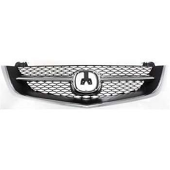 2003 Acura Tl Grille - Diften 102-A2643-X01 - New Grille Assembly Grill Black insert Acura TL 2003 2002 AC1200107 75101S0KA02