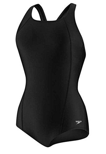 스피도 Speedo Womens Powerflex Conservative Ultraback One-Piece Swimsuit