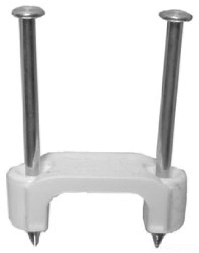 L.H. Dottie PLX751 Staple, 2 Nail, 3/4-Inch, White, 100-Pack by L.H. Dottie