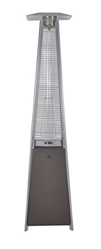 Legacy Heating CAPH-GT-SMOCHA Patio Heater, 21″X21″X88″, MOCHA