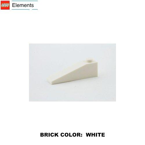 Lego Parts: Slope 18° 4 x 1 (White)