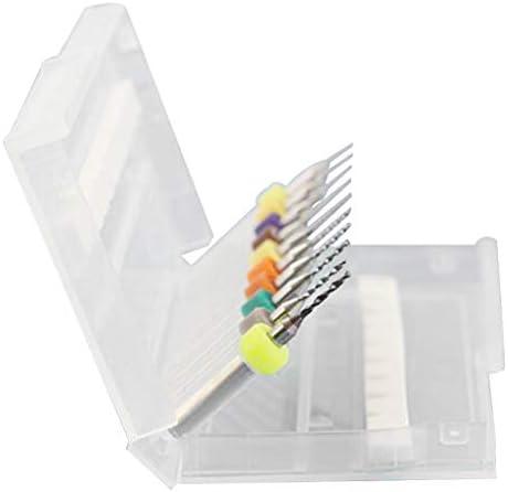 10個セット マイクロ ドリルビット SMT CNC用 鋼鉄 PCB 炭化物 全5サイズ - PCB 2.1-3.0mm