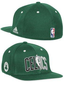 adidas Boston Celtics - Gorra con Visera Plana, L/XL, Verde ...