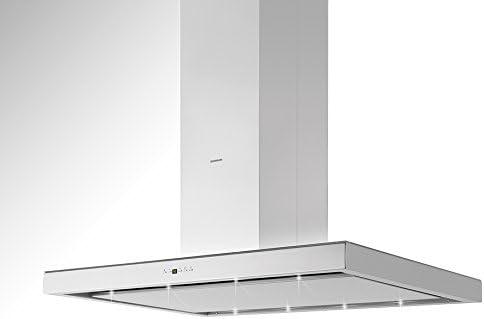 Silverline Illumina Isola Ili 685.3 S/Isla Campana/acero inoxidable/cristal/blanco/65 cm/B: Amazon.es: Grandes electrodomésticos