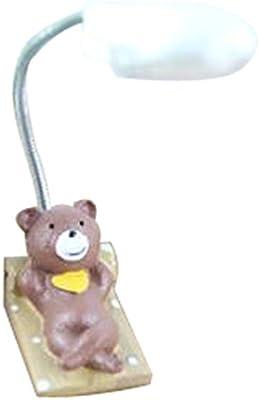 Cute Brown Bear lámpara de escritorio baratos lámparas de ...
