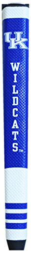 (Team Golf NCAA Kentucky Wildcats Golf Putter Grip with Removable Gel Top Ball Marker, Durable Wide Grip & Easy to Control)