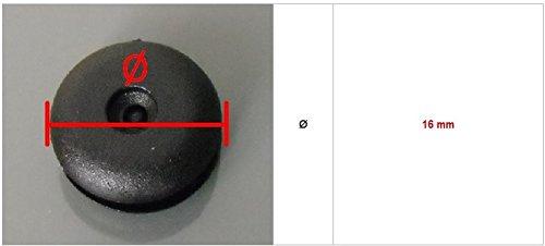 clip noir 1/butoir universel pour ceinture de s/écurit/é