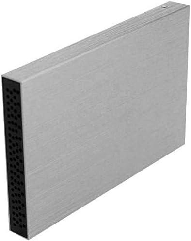 Disco duro externo delgado 1TB//2TB HDD port/átil USB 3.0 para PC port/átil y Mac plata 2 tb
