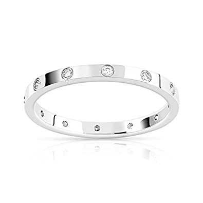 4061f576991 MATY - 0913651.T58 - Alliance or 375 blanc diamant - Taille 58 ...