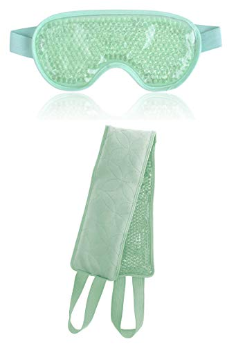 - Verona Summer Hot and Cold Therapeutic Relaxation Eye Mask and Body Wrap Neck Wrap Multifunctional Gel Pack (Aqua)