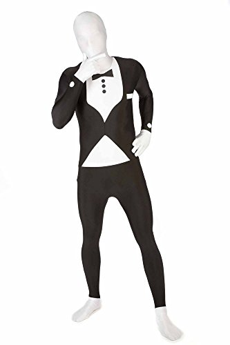 Morphsuits Men's Premium Tuxedo, Black,