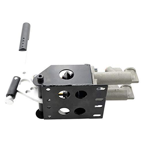 adatto per Motorsport 1,6 cm doppio cilindro idraulico verticale Freno a mano nero