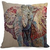 pillowcase of Elephant 18 x 18 inches / 45 by 45 cm,best fit for gf,bedding,bar,dining room,bedroom,teens girls 2 sides - Memphis Lounger