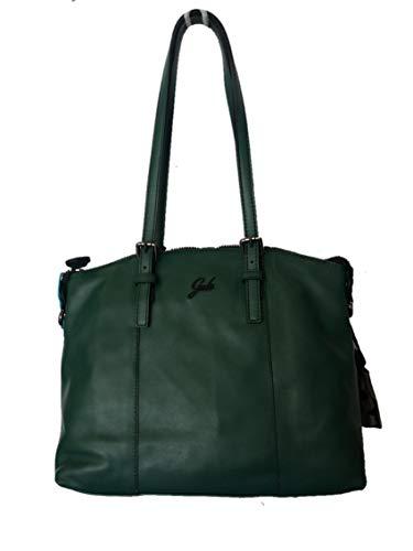 Verde 27 Cuero Bolso para hombro al de x pino 13 mujer cm 33 x cm GABS cm 0OwBB