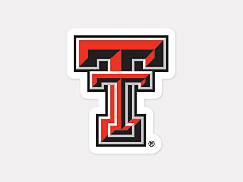 (WinCraft NCAA Texas Tech University Perfect Cut Color Decal, 4