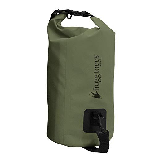 Frogg Toggs Ftx Gear PVC Tarpaulin Waterproof Dry Bag with Cooler Insert, Green, 10-Liter