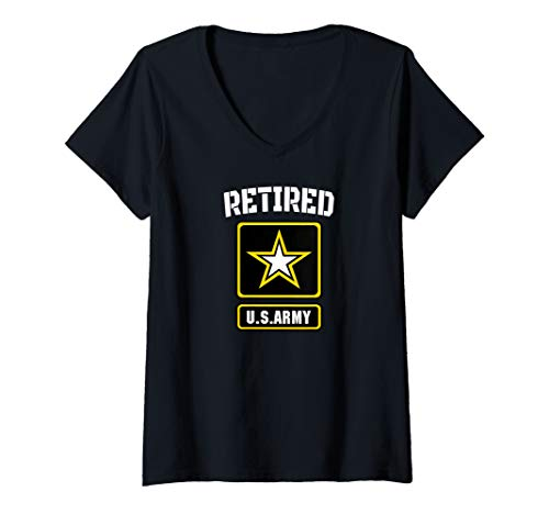 Womens Retired US Army Veteran - Gift for